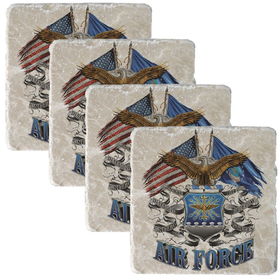 Air Force Double Flag Collectors Set-Military Republic