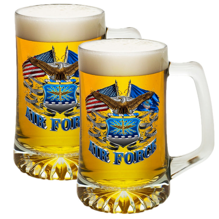 Air Force Double Flag Tankard-Military Republic