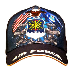 Air Force Double Flags Hat-Military Republic