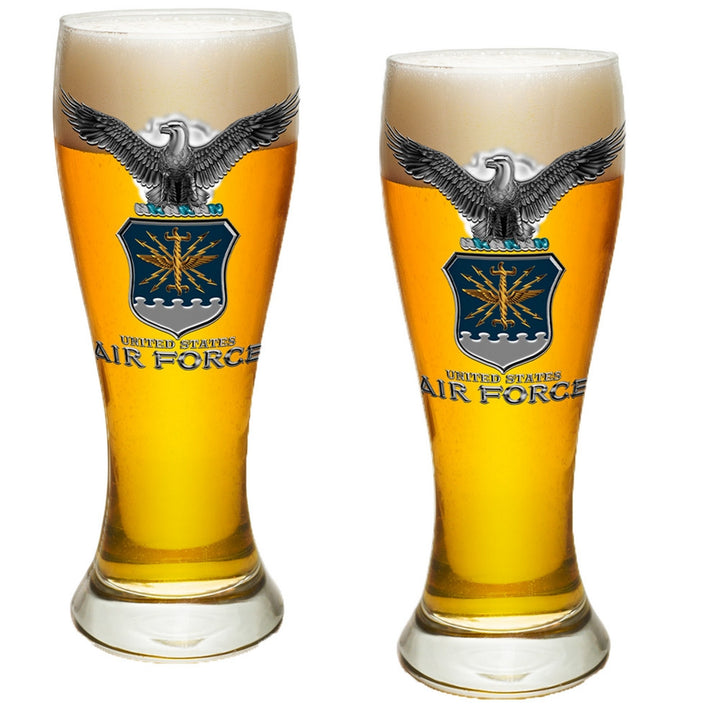 Air Force Missile Pilsner Glass Set-Military Republic