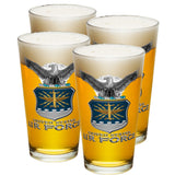 Air Force Missile Pint Glasses-Military Republic