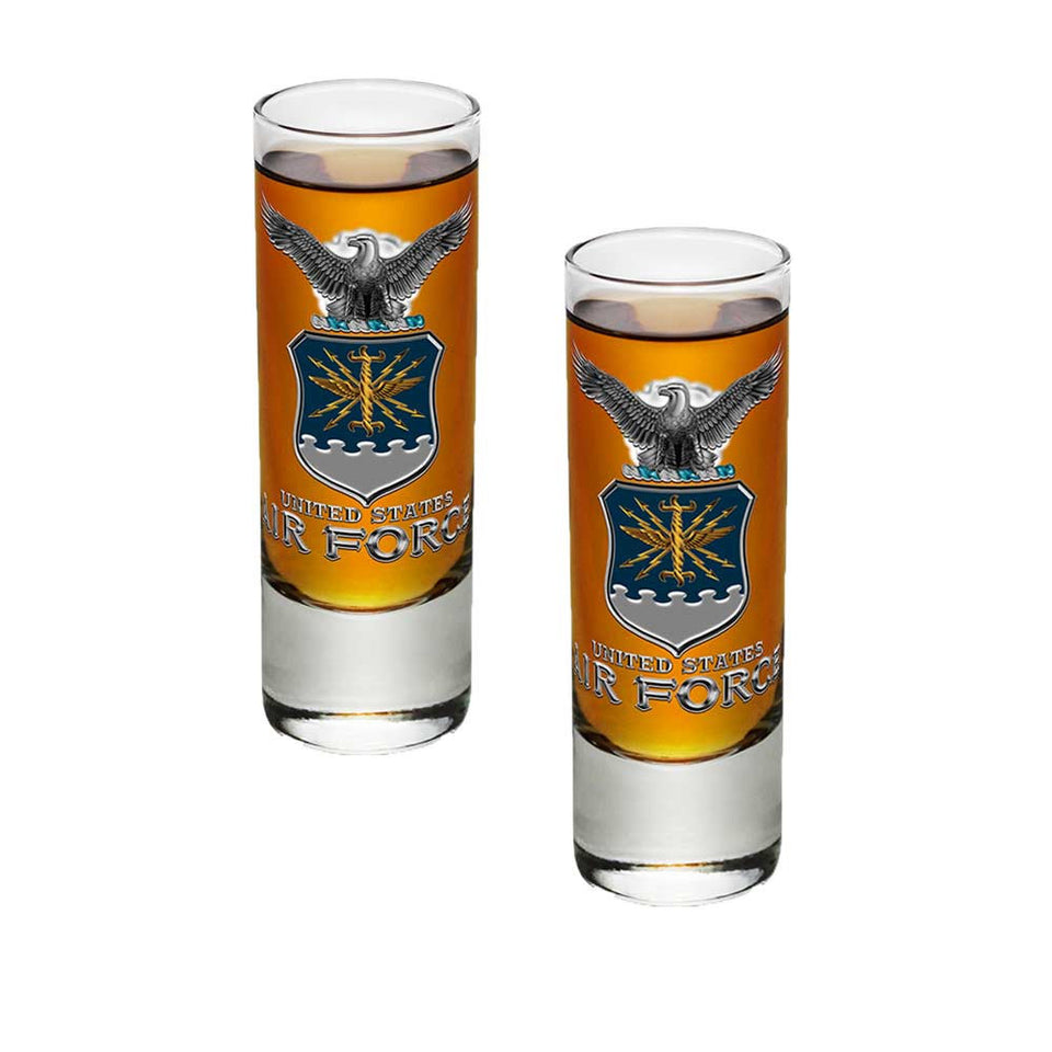 Air Force Missile Shot Glasses-Military Republic