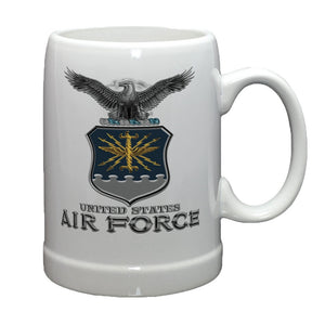 Air Force Missile Stoneware Mug Set-Military Republic