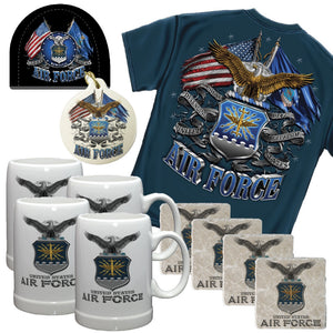 Air Force Nut Holiday Gift Set-Military Republic