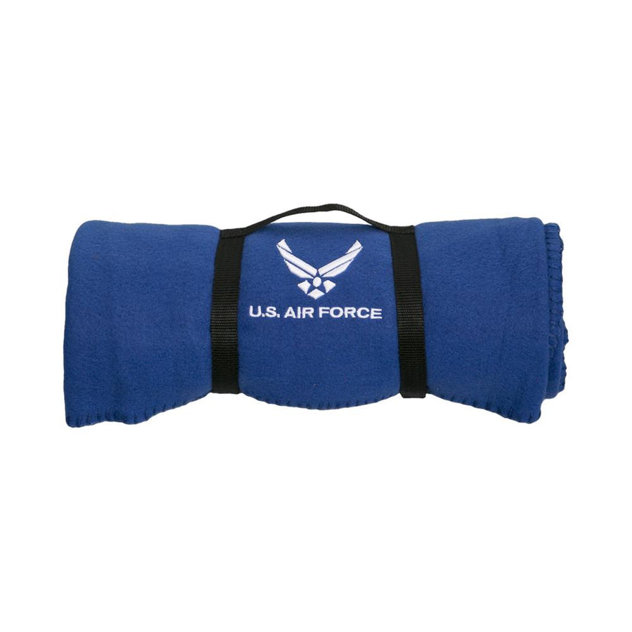 Air Force Polar Fleece Blanket-Military Republic