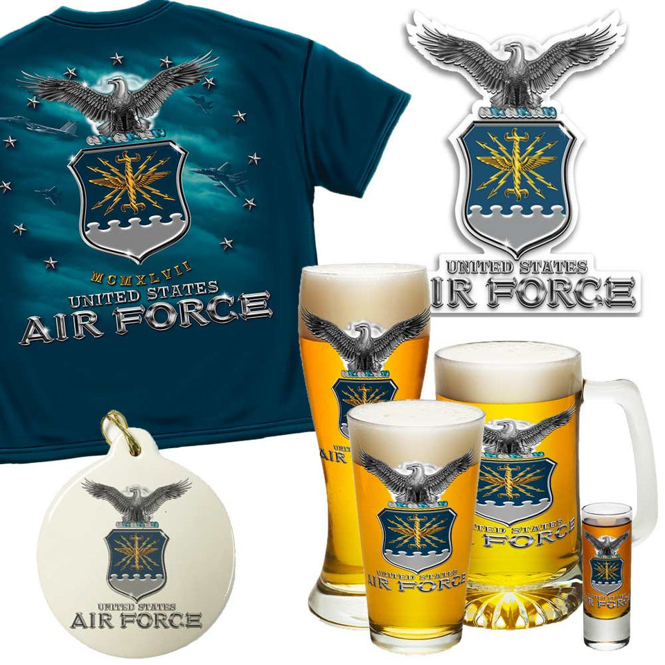 Air Force Proud Holiday Gift Set-Military Republic