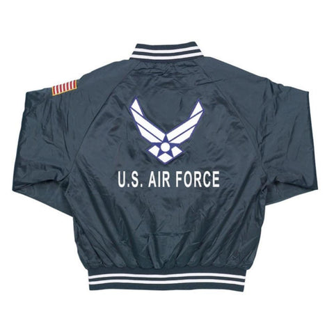 U.S. Air Force Satin Jacket - Blue