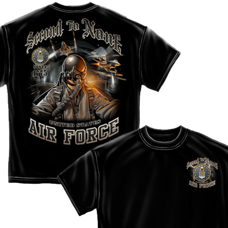 Air Force Second To None T-Shirt-Military Republic