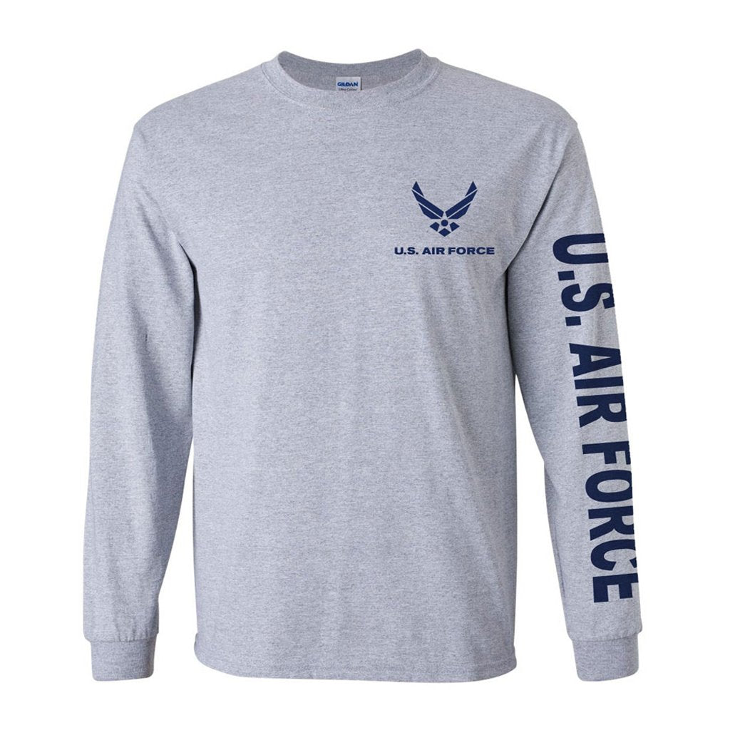 Air Force Sport Grey Long Sleeve Shirt