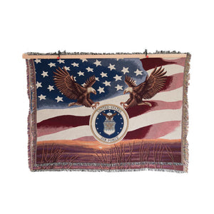 Air Force Tapestry Blanket-Military Republic
