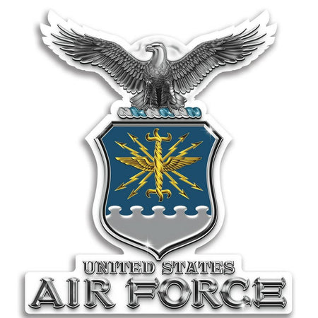 US AIR FORCE HAP ARNOLD WING 3 INCH STICKER DECAL MADE IN THE USA!!