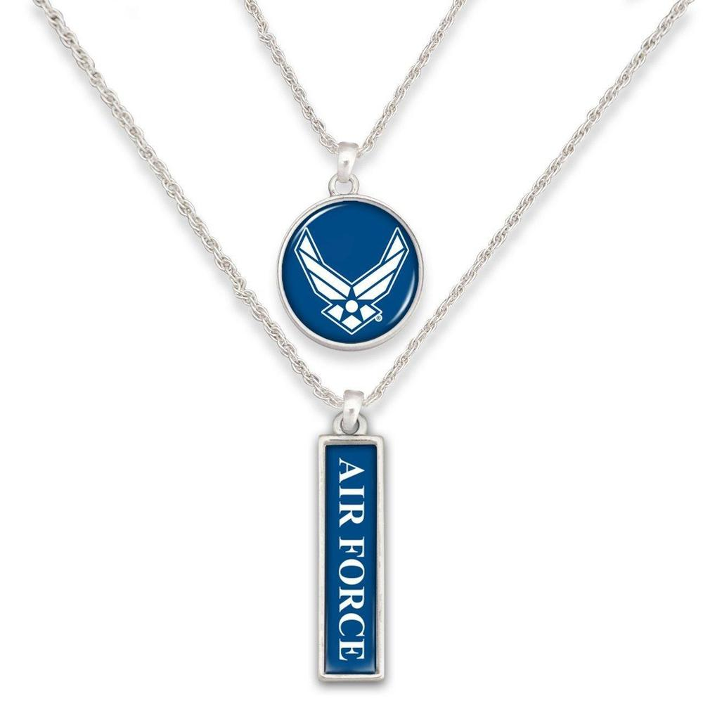 Air Force Double Down Necklace-Military Republic