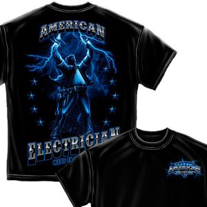 American Electrician T-Shirt-Military Republic