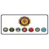 American Legion Photo License Plate