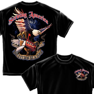American Postal Worker T-Shirt-Military Republic