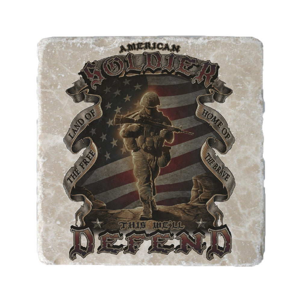 American Soldier Coaster-Military Republic