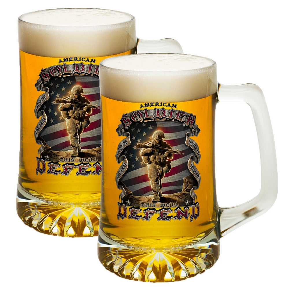 American Soldier Tankard-Military Republic