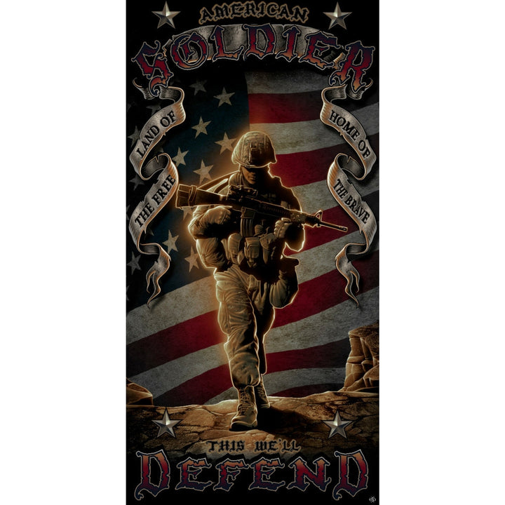 American Soldier Towel-Military Republic