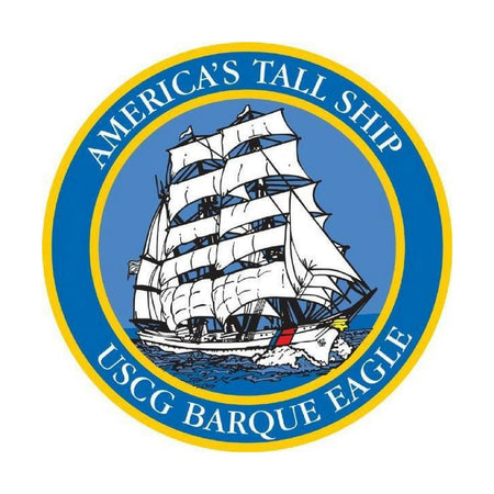 America's Tall Ship USCG Barque Eagle Decal-Military Republic