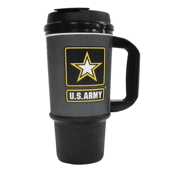 Army 24 OZ Travel Mug-Military Republic