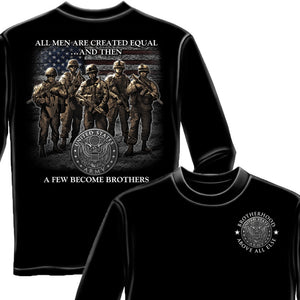 Army Brotherhood Long Sleeve Shirt-Military Republic