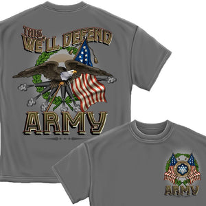 Army Cannons T-Shirt-Military Republic