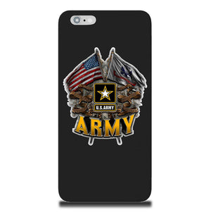 Army Double Flag Phone Case-Military Republic