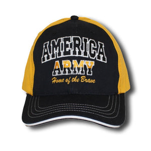 Army Home of the Brave Cap-Military Republic
