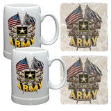 Army Mug and Coaster Set-Military Republic