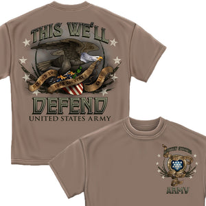 Army Respond To Your Country's Call T Shirt-Military Republic