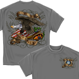 Army Shield And Eagle T-Shirt-Military Republic