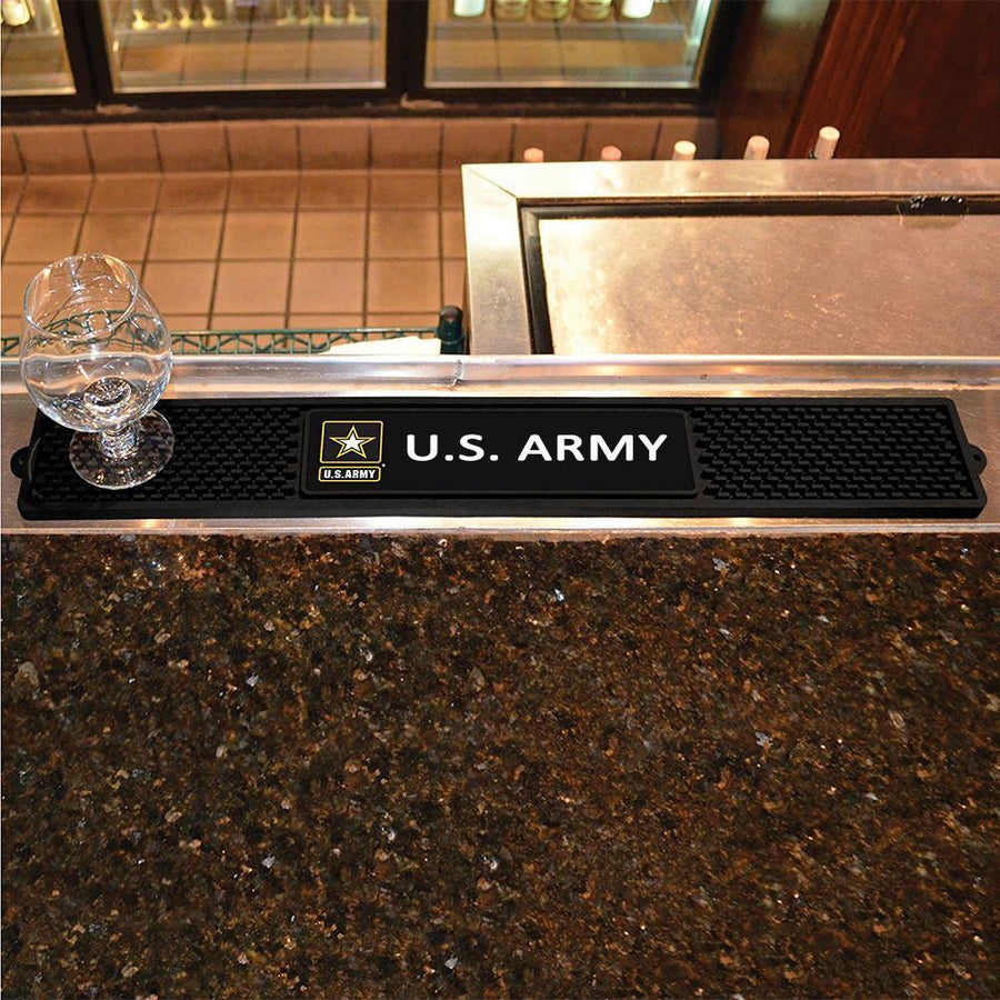 Army Star Drinks Mat-Military Republic