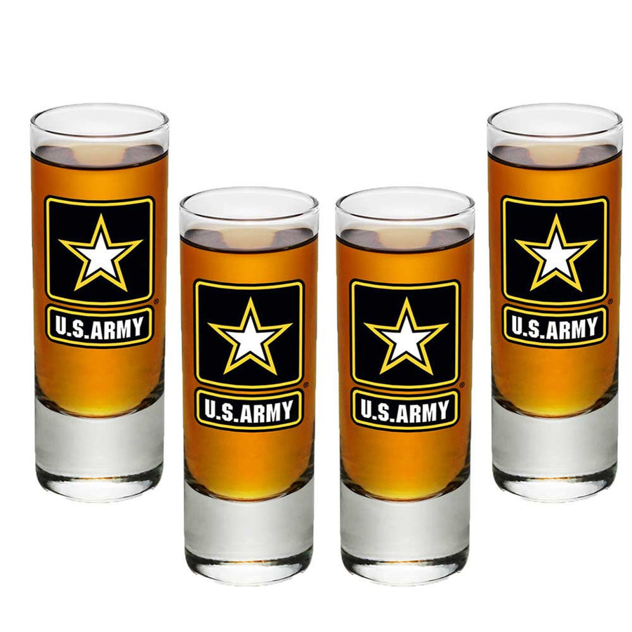 Army Star Shot Glasses-Military Republic