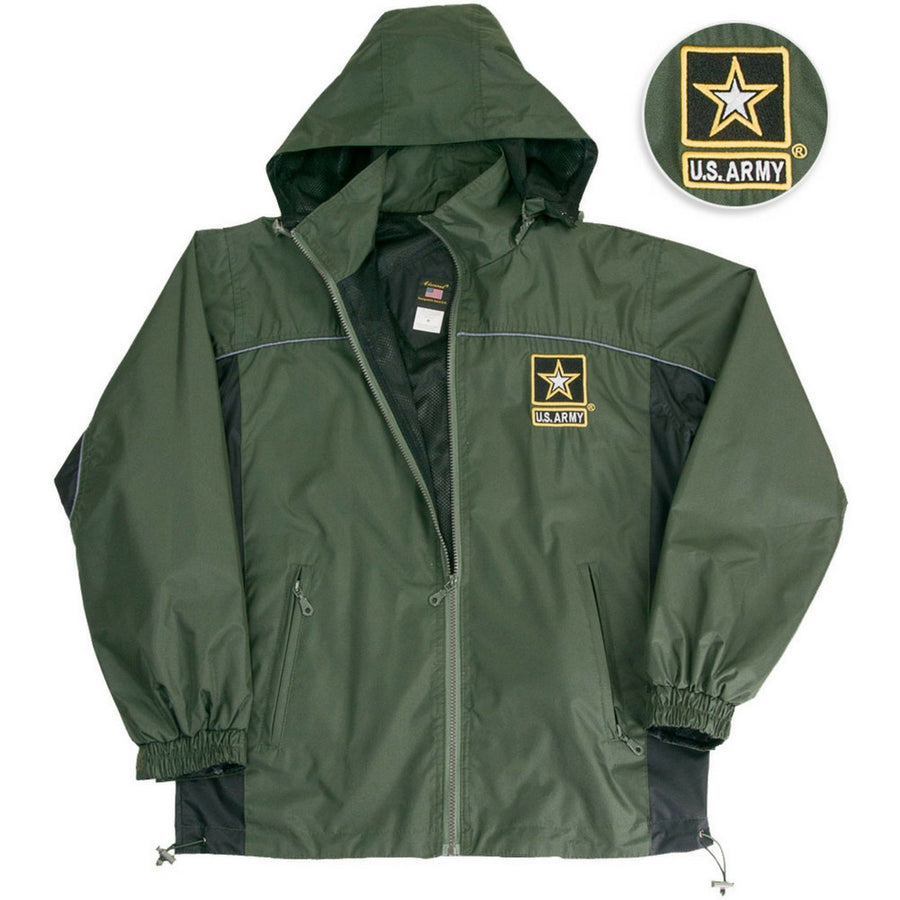 Army Star Wind Breaker Jacket-Military Republic