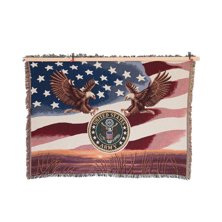 Army Tapestry Blanket-Military Republic