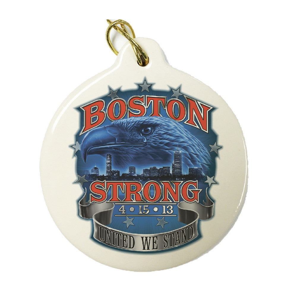 Boston Strong Christmas Ornament-Military Republic