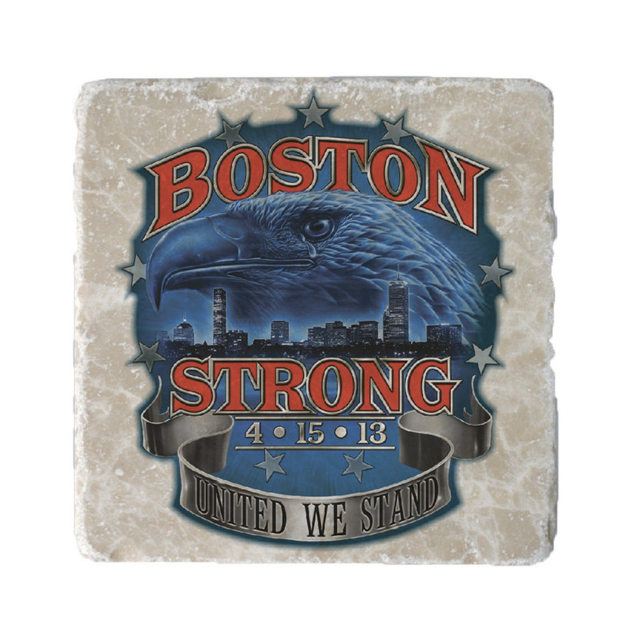 Boston Strong Coaster-Military Republic