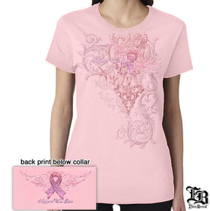 Breast Cancer Awareness Women's T-shirt-Military Republic