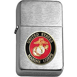Brushed Chrome United States Marine Corps Insignia Star Lighter-Claris Deals
