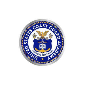 Coast Guard Academy Rainbow Holographic Decal-Military Republic