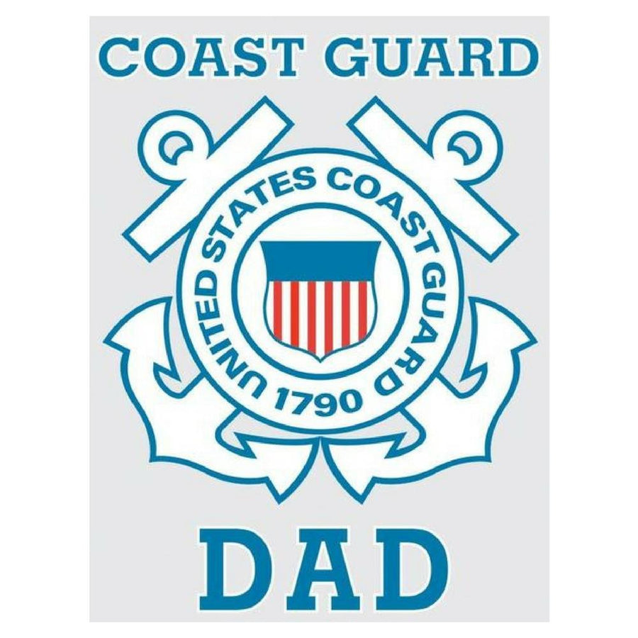 Coast Guard Dad Decal-Military Republic