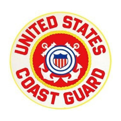Coast Guard Rocker Back Patch 10