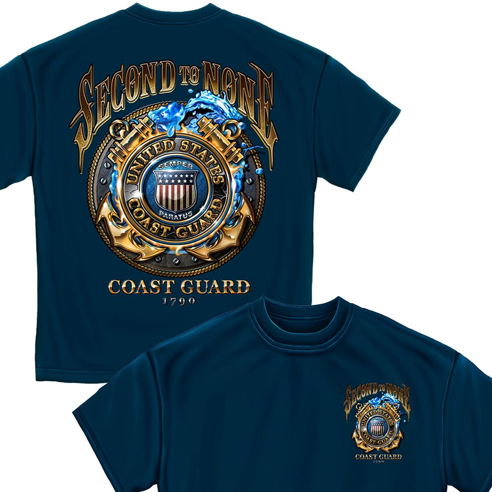 Coast Guard Second to None T-Shirt