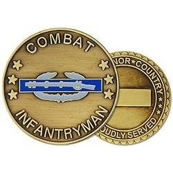 Combat Infantry Badge (CIB) Challenge Coin (38MM inch)
