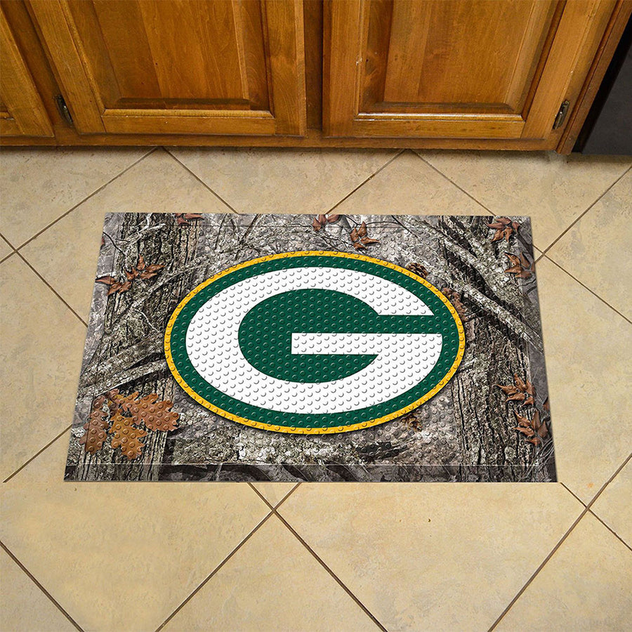 Copy of Green Bay Packers Logo Doormat-Military Republic