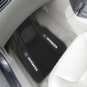 Dallas Cowboys Deluxe Car Mats-Military Republic