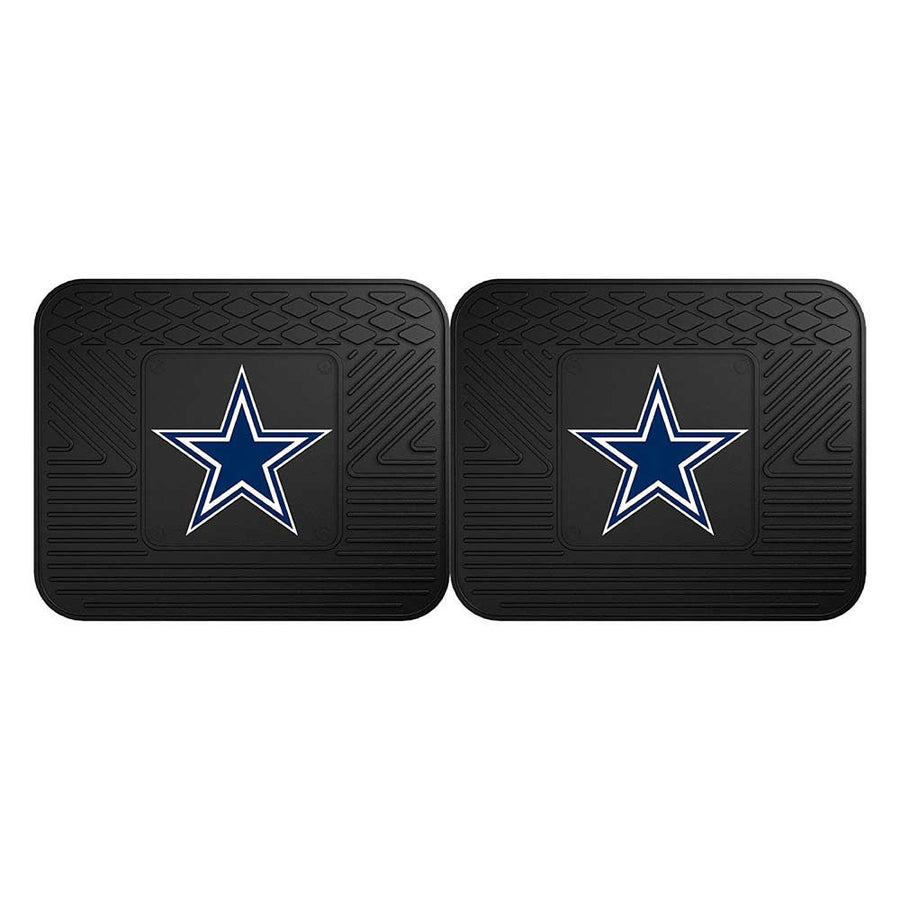Dallas Cowboys Heavy Duty Vinyl Rear Car Mats-Military Republic