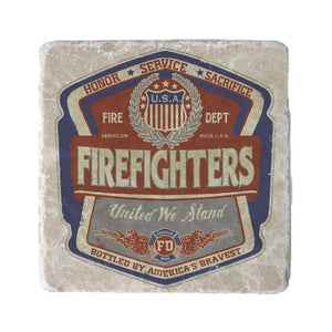 Denim Fade Firefighter Coaster-Military Republic