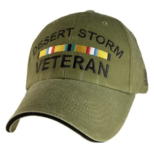 Operation Desert Storm Olive Green Cap
