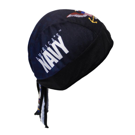 Diamond Plate Design US Navy Headwrap